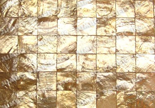Natural Gold Square Blocking